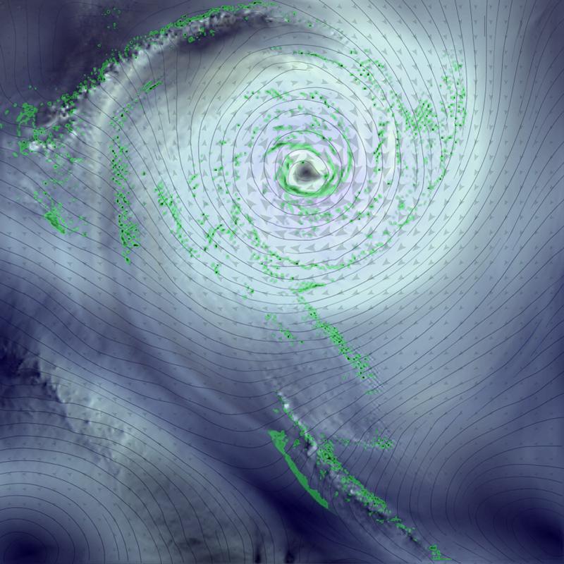 Visualization of weather data