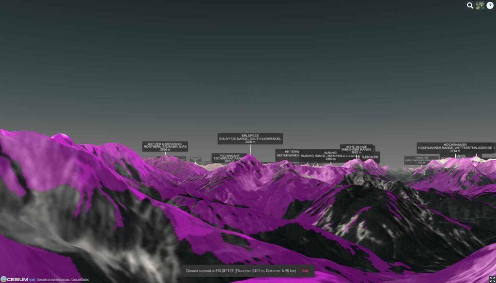 Alpenblick summit viewpoint